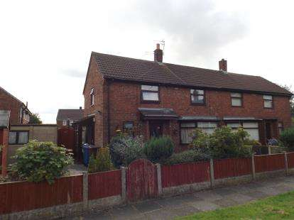 2 Bedrooms Semi Detached House for sale in Pennine Lane, Golborne, Warrington, Greater Manchester