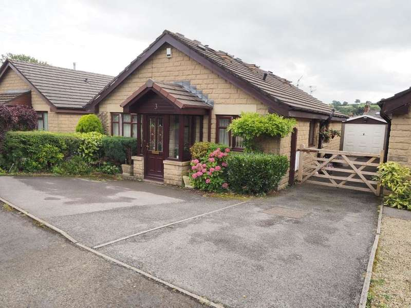 3 Bedrooms Detached Bungalow for sale in Cracken Close, Chinley, High Peak, Derbyshire, SK23 6AZ