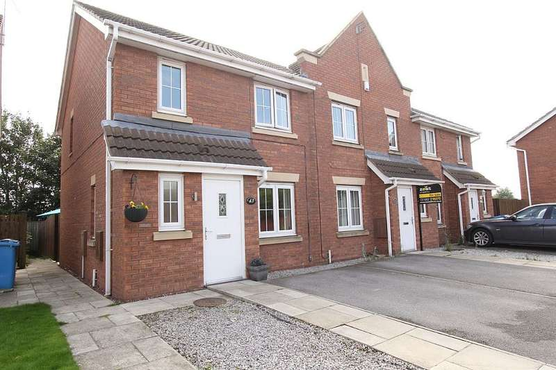 3 Bedrooms End Of Terrace House for sale in Acasta Way, Hull, East Yorkshire, HU9 5SE