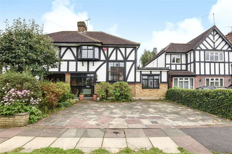 3 Bedrooms Semi Detached House for sale in Vicarage Way, Harrow, Middlesex, HA2