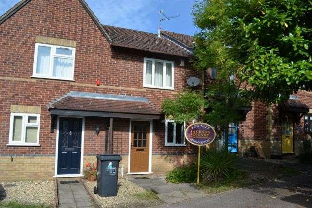 2 Bedrooms Terraced House for sale in Oxburgh Court, East Hunsbury, Northampton NN4 0FH