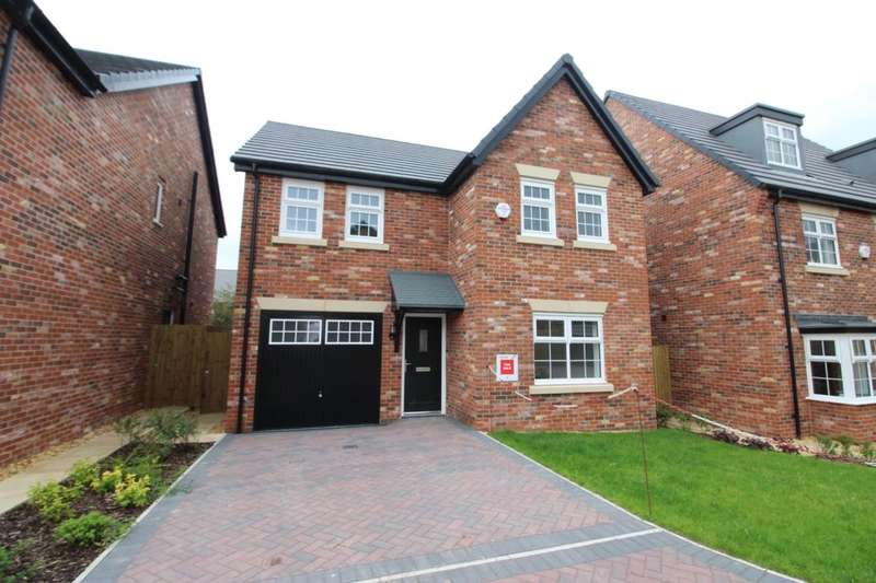 4 Bedrooms Detached House for sale in Cloverfields, Carlisle, CA2