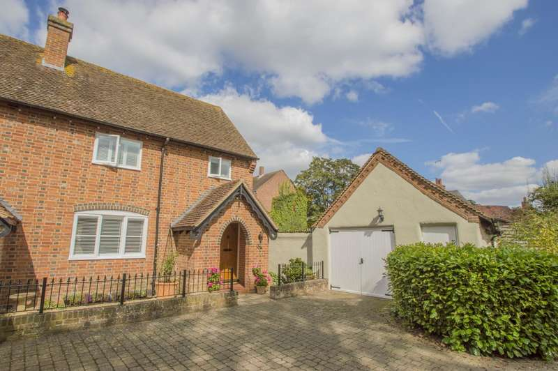 2 Bedrooms End Of Terrace House for sale in Malthouse Lane, Dorchester-On-Thames, Wallingford, OX10