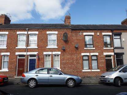 3 Bedrooms Terraced House for sale in Mildred Street, Darlington