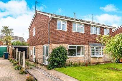 3 Bedrooms Semi Detached House for sale in Caldervale Drive, Wildwood, Stafford, Staffordshire