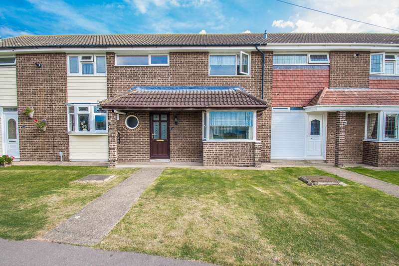 2 Bedrooms Terraced House for sale in Fourth Walk, Canvey Island, SS8