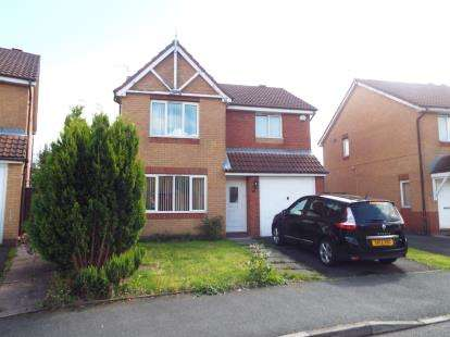 3 Bedrooms Detached House for sale in Rushy View, Newton-Le-Willows, St Helens, Merseyside