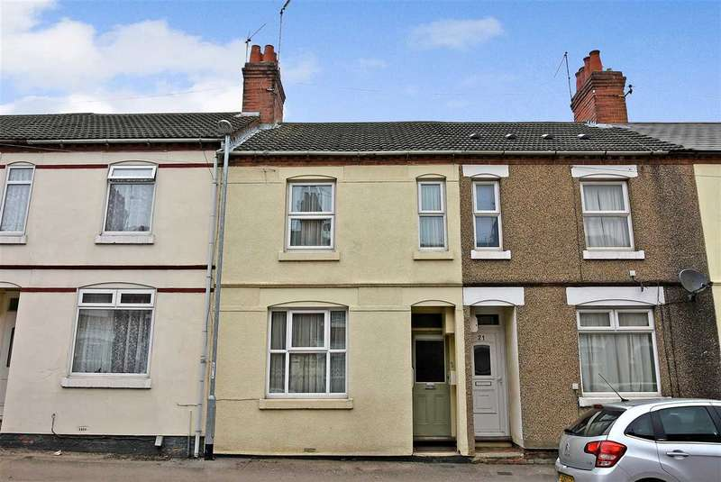 3 Bedrooms Terraced House for sale in Whitworth Road, Wellingborough, NN8 1QQ