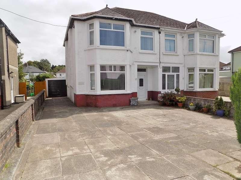 4 Bedrooms Semi Detached House for sale in Glengarry 7 Heol Gam , Bridgend. CF31 3EU