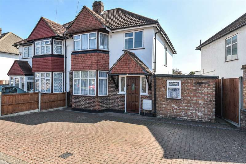 3 Bedrooms Semi Detached House for sale in Roundways, Ruislip, Middlesex, HA4