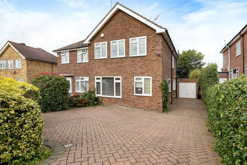 3 Bedrooms Semi Detached House for sale in Maylands Drive, Uxbridge, Middlesex, UB8