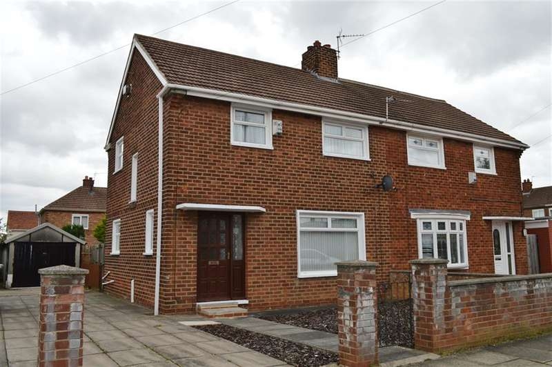 3 Bedrooms Semi Detached House for sale in Grinkle Avenue, Park End, Middlesbrough, TS3 7HW