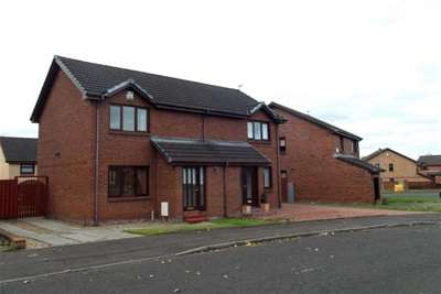 2 Bedrooms Semi Detached House for rent in Cassels Street, Motherwell