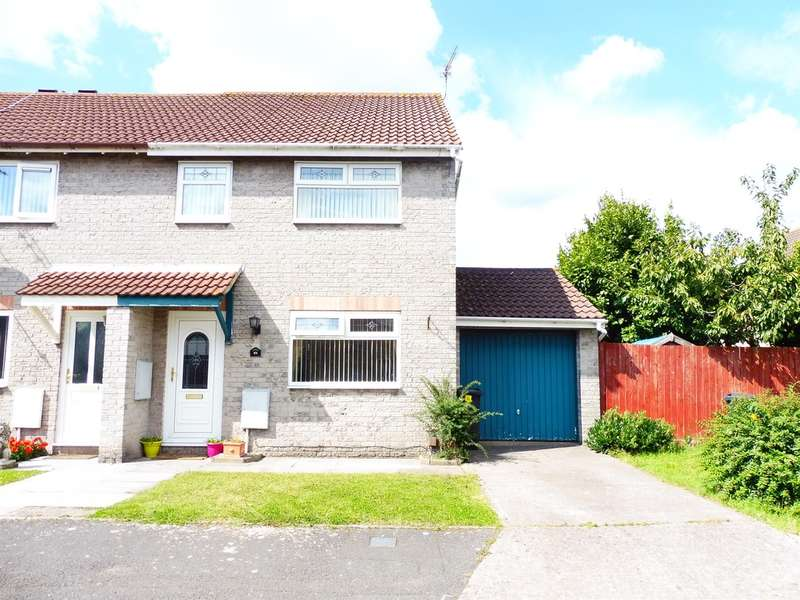 3 Bedrooms End Of Terrace House for sale in Horwood Close, Cardiff
