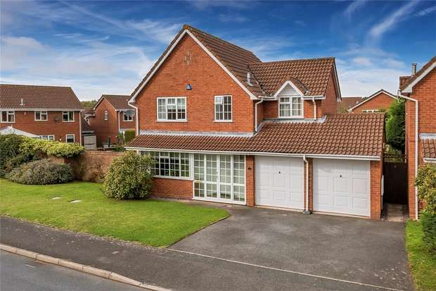 4 Bedrooms Detached House for sale in 6 Crowdale Road, Shawbirch, Telford, Shropshire
