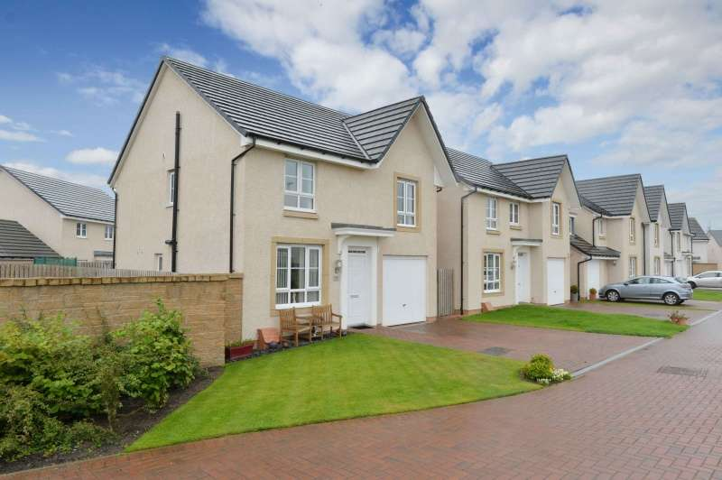 4 Bedrooms Detached House for sale in Lang Drive, Bathgate, West Lothian, EH48 2LZ