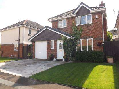 4 Bedrooms Detached House for sale in Nottingham Close, Woolston, Warrington, Cheshire