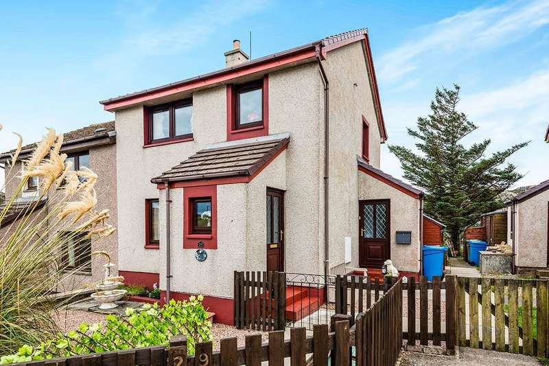2 Bedrooms Semi Detached House for sale in Inchard Place, Kinlochbervie, LAIRG, IV27
