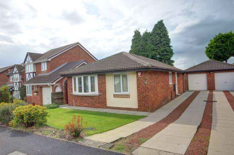 2 Bedrooms Detached Bungalow for sale in Coptleigh, Houghton Le Spring, DH5