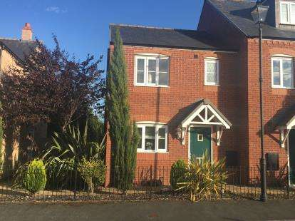 3 Bedrooms Semi Detached House for sale in Stryd Y Wennol, Stryd Y Wennol, Ruthin, Denbighshire, LL15