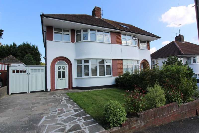 3 Bedrooms Semi Detached House for sale in North Drive, Orpington, Kent, BR6 9PG