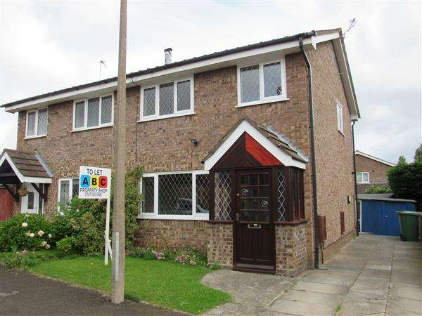 3 Bedrooms Semi Detached House for rent in Iffley Close, Upton