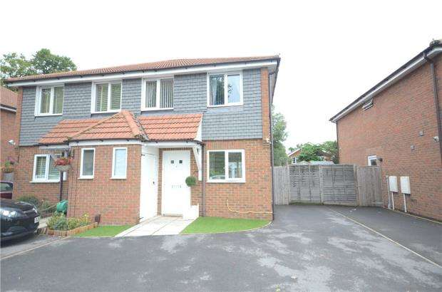 3 Bedrooms Semi Detached House for sale in Fox Villas, Hawley Road, Blackwater