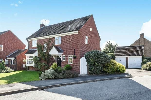 4 Bedrooms Detached House for sale in Hampshire Way, WOKINGHAM, Berkshire