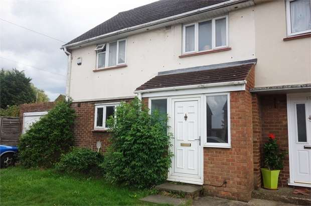 3 Bedrooms End Of Terrace House for sale in Longcroft Road, Luton, Bedfordshire