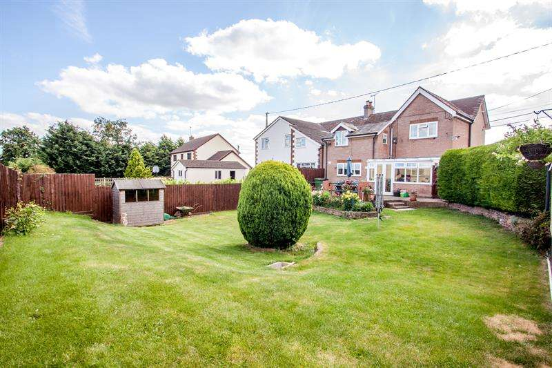 4 Bedrooms Semi Detached House for sale in Ross Road, Brampton Abbotts, Ross-On-Wye