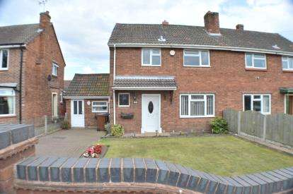 3 Bedrooms Semi Detached House for sale in Oakfield Road, Alrewas, Burton-On-Trent