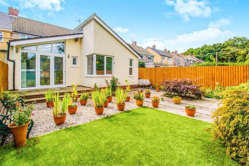 3 Bedrooms Semi Detached House for sale in Lewis Road, Llandough, Penarth