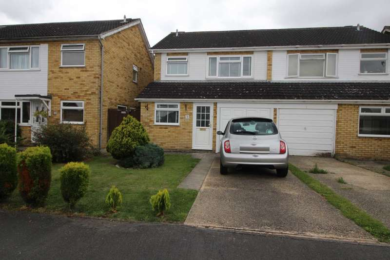 3 Bedrooms Semi Detached House for sale in Norbury Close, Marks Tey