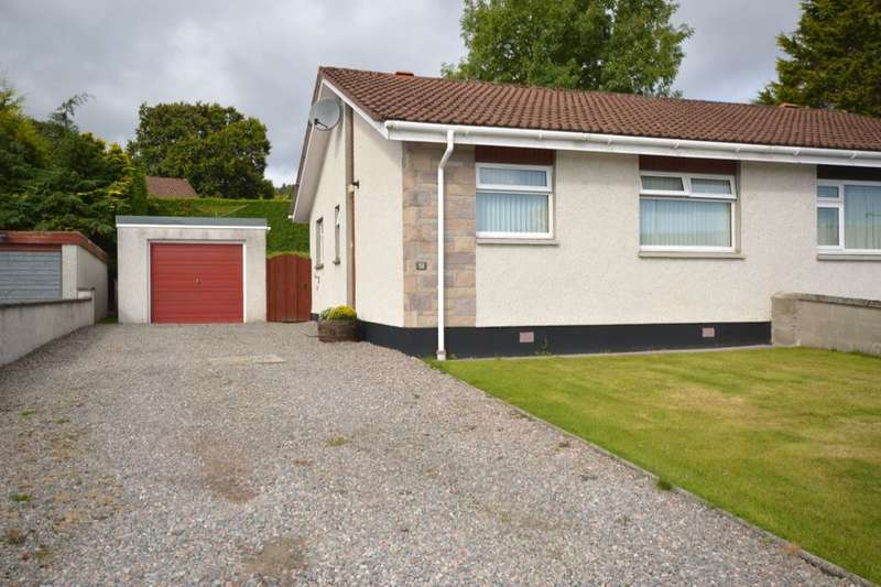 2 Bedrooms Semi Detached Bungalow for sale in Leachkin Drive, Inverness, IV3