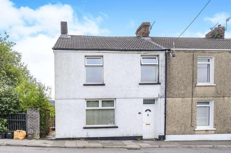 3 Bedrooms End Of Terrace House for sale in Bridge Street, Maesteg