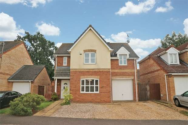 4 Bedrooms Detached House for sale in Bridle Close, Chatteris, Cambridgeshire
