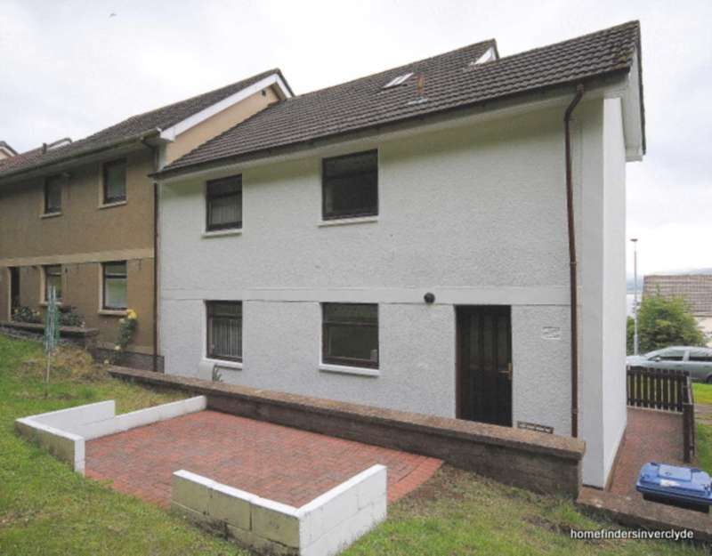 3 Bedrooms End Of Terrace House for sale in Glenhuntly Terrace, Port Glasgow