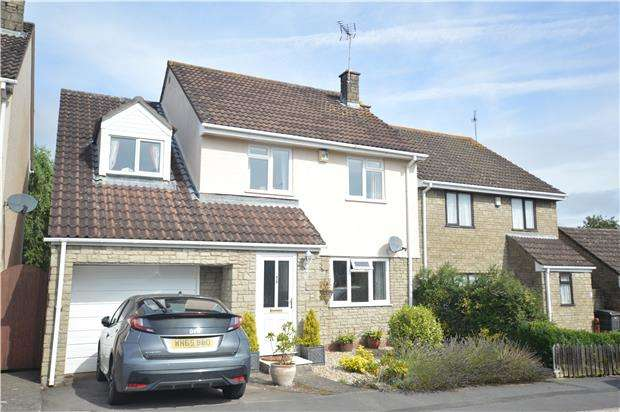 4 Bedrooms Detached House for sale in Honeyborne Way, Wickwar, WOTTON-UNDER-EDGE, Gloucestershire, GL12 8PF