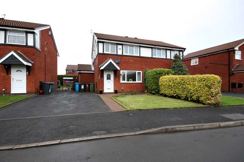 3 Bedrooms Semi Detached House for sale in Alders Court, Oldham, Lancashire, OL8