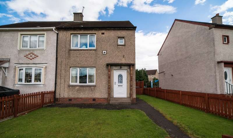 2 Bedrooms Semi Detached House for sale in McCracken Drive, Glasgow, Lanarkshire, G71