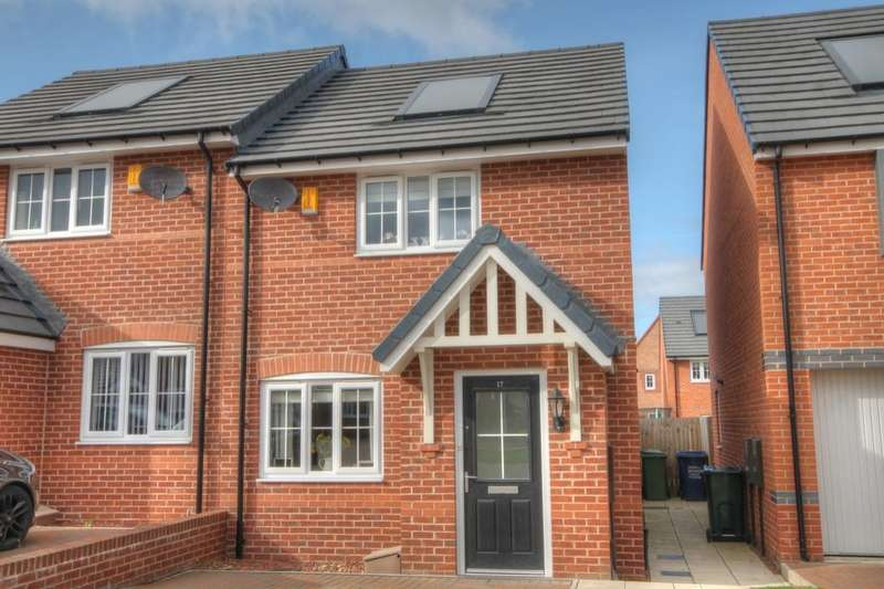 2 Bedrooms Semi Detached House for sale in Old School Drive, Scholars Wynd, Newcastle Upon Tyne, NE15