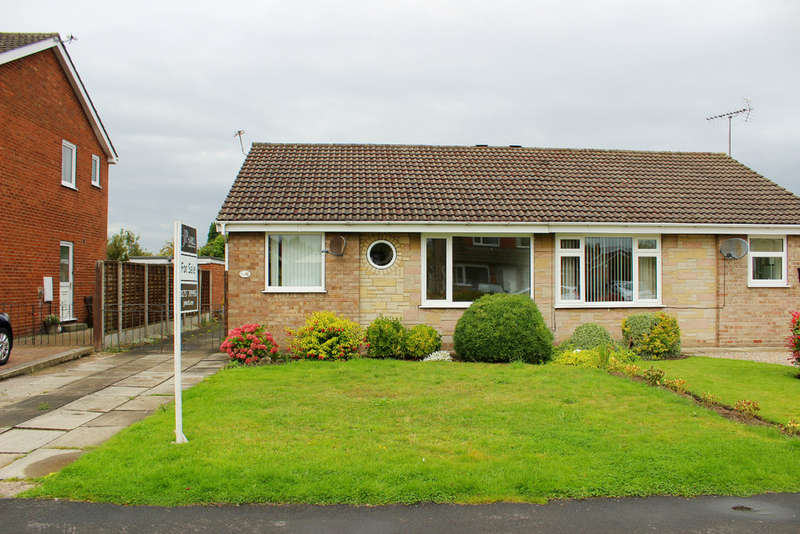 2 Bedrooms Semi Detached Bungalow for sale in Westbourne Road, Selby