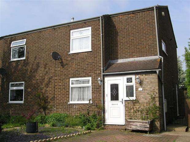 2 Bedrooms Semi Detached House for rent in Williams Close, Hanslope, Milton Keynes