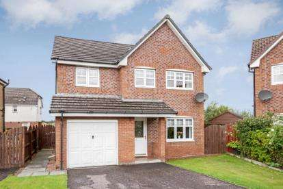 4 Bedrooms Detached House for sale in Spruce Drive, Cambuslang, Glasgow, South Lanarkshire