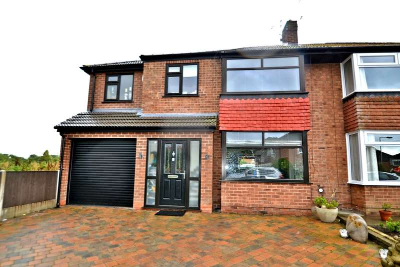 4 Bedrooms Semi Detached House for sale in Dawson Road, Heald Green