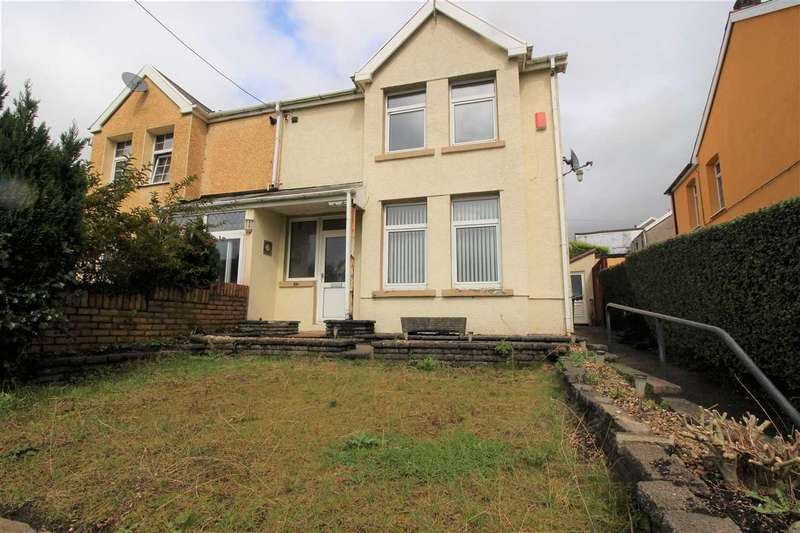 3 Bedrooms Semi Detached House for sale in Cambrian Avenue, Gilfach Goch, Porth
