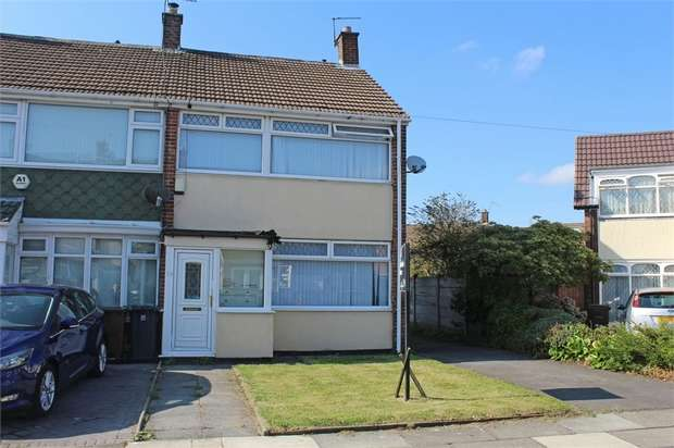 3 Bedrooms End Of Terrace House for sale in Penfold, Liverpool, Merseyside