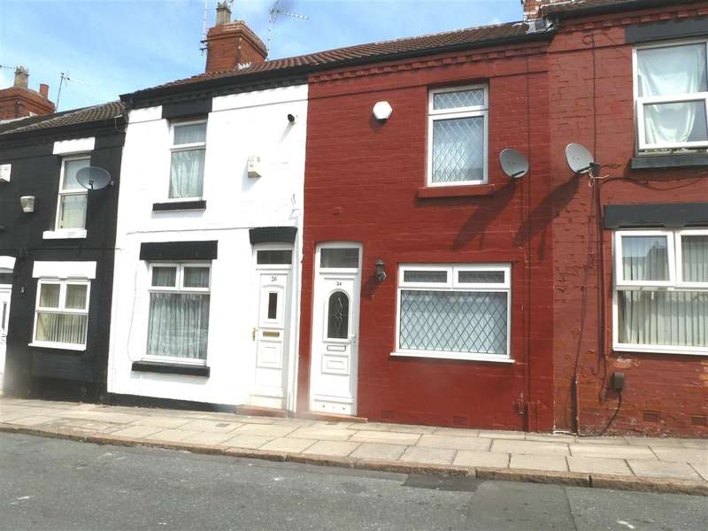 2 Bedrooms Terraced House for sale in Sapphire Street, Old Swan, Liverpool
