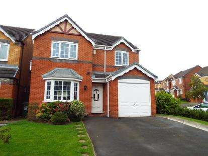 4 Bedrooms Detached House for sale in Deavall Way, Heath Hayes, Staffordshire