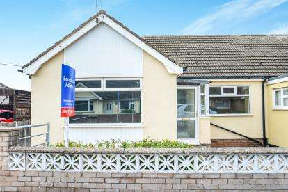 2 Bedrooms Bungalow for sale in Roseview Crescent, Kinmel Bay, Rhyl, Conwy, LL18